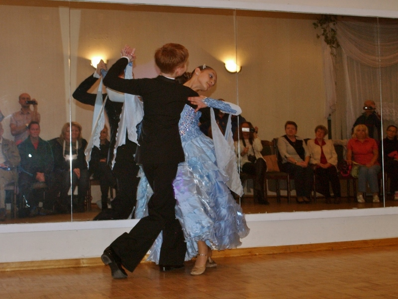 Taniec Towarzyski Kacper Nadia Tango