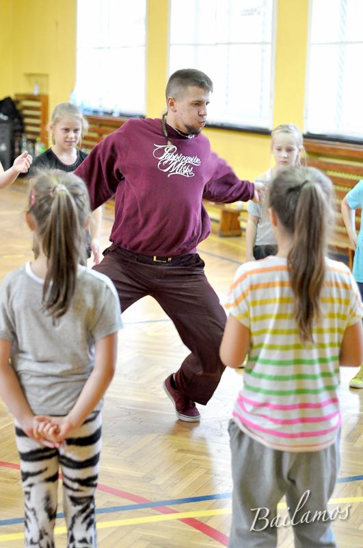 Hip Hop - warsztaty z Shevą w Studiu Tańca Bailamos 003