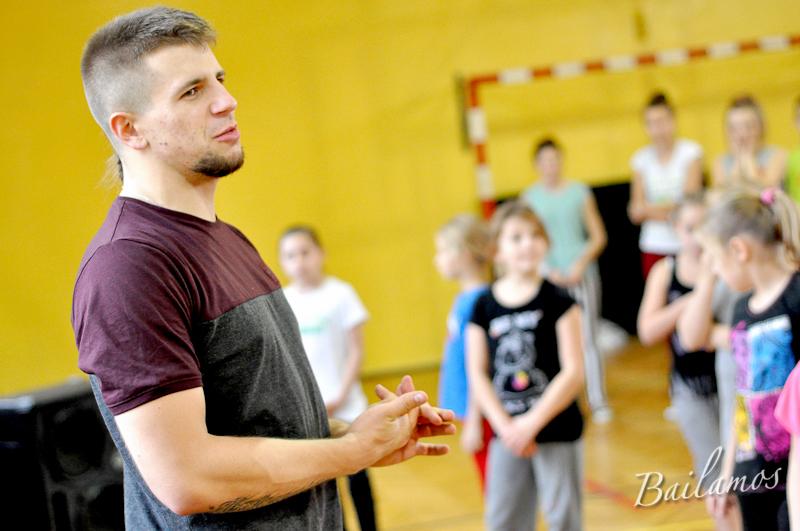 Hip Hop - warsztaty z Shevą w Studiu Tańca Bailamos 011