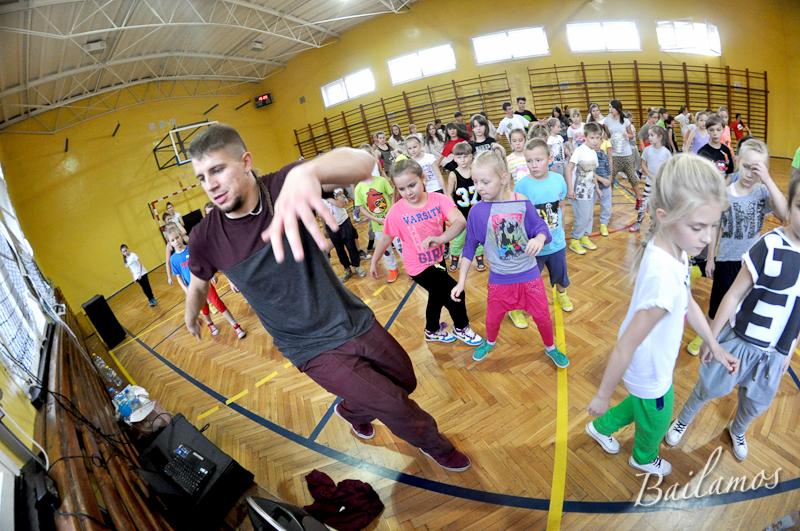 Hip Hop - warsztaty z Shevą w Studiu Tańca Bailamos 049
