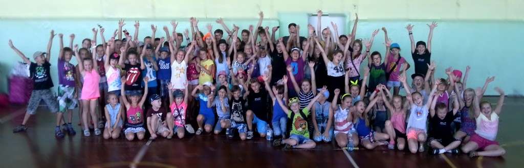 Taneczny Obóz Letni - hip hop i taniec towarzyski Bailamos 2014