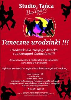 Taneczne urodzinki w Szkole Tanca Bailamos