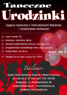 Taneczne Urodzinki w Bailamos