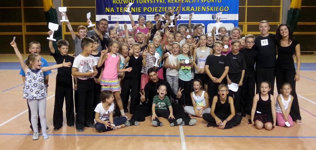 Turniej Tanca na obozie Szkoly Tanca Bailamos