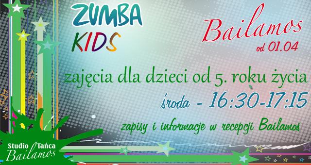 Zumba dla dorosłych także w piątek! NOWOŚĆ: Zumba Kids!