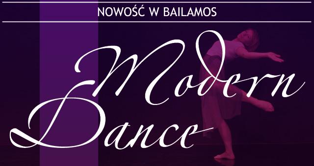 NOWOŚĆ: Modern Dance w Bailamos 7-12 lat
