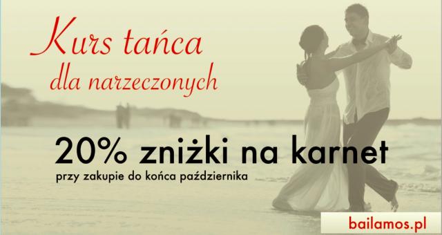 PROMOCJA: Kurs dla narzeczonych -20% na karnet!