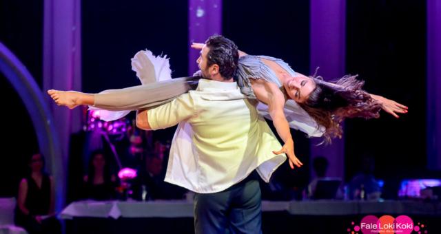 Pokaz Jana Klimenta i Lenki na Fale Loki Koki Dance Festival