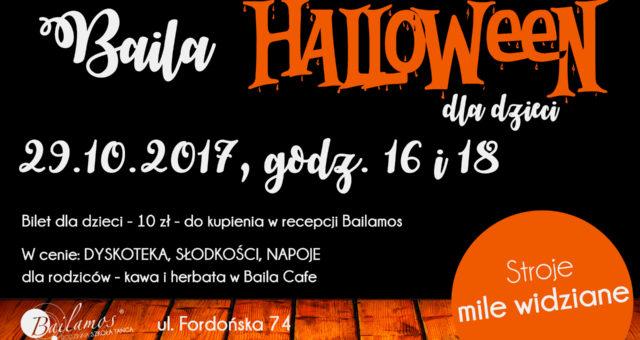 Halloween dla dzieci w Bailamos – Fordońska 74