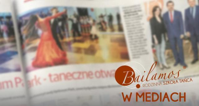 Szkoła Tańca Bailamos w mediach