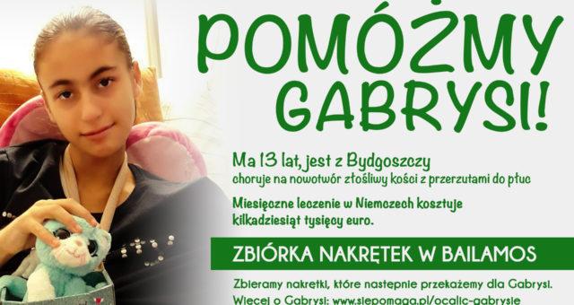 Pomóżmy Gabrysi!