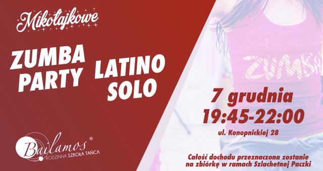 Mikołajkowe Zumba Party i Latino Solo