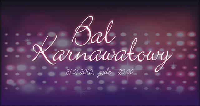 Bal Karnawałowy 2015