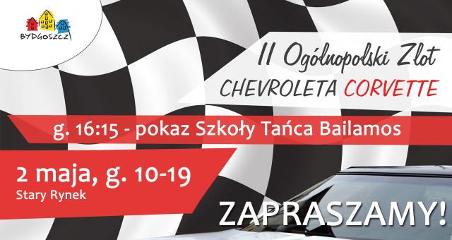 II Ogólnopolski Zlot Chevroleta CORVETTE – pokazy Szkoły Tańca Bailamos