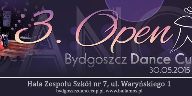 Sponsorzy turnieju Open Bydgoszcz Dance Cup