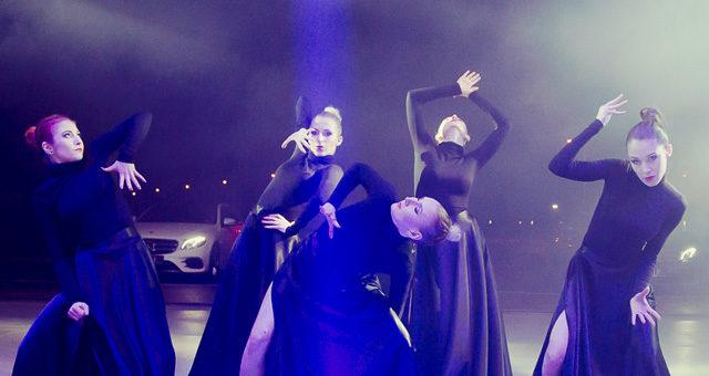 Pokaz podczas prezentacji nowej Klasy E Mercedesa