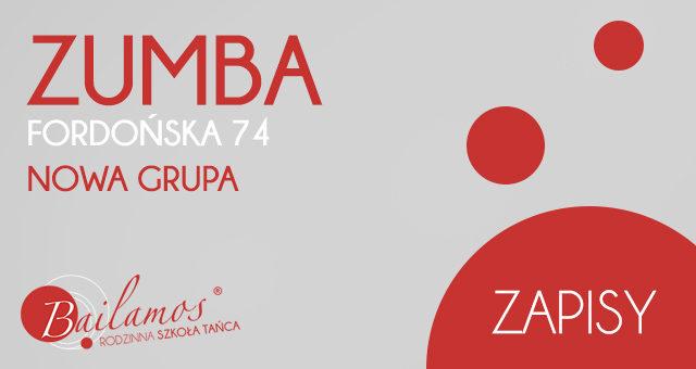 ZUMBA – nowa grupa na Fordońskiej 74